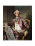 Portrait of Charles-Claude De Flahaut De La Billarderie  Comte D'Angiviller (1730-1809)  Seated…