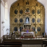 View of the Altar  Santo Domingo Church  San Cristobal  Chiapas State  Mexico