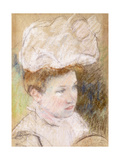 Leontine in a Pink Fluffy Hat  1898