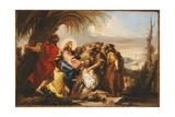 Christ Healing the Blind Man  C1751