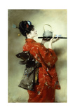 The Japanese Lady; La Japonaise  1888