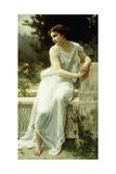 Girl of Pompei in a Garden; Jeune Fille De Pompei Dans Un Jardin
