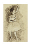Study of a Dancer; Etude De Danseuse  1873-1874