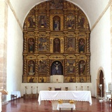 View of the Altar  Franciscan Church  Oxcutzcab  Yucatan Peninsula  Mexico