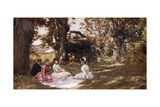 Picnic under the Trees  1896