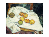 Still-Life with Apples; Nature Mort Au Pommes  1896