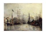 Rotterdam Harbour  1857
