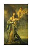 Portrait of Annabella  Lady Blake as 'Juno Receiving the Cestus from Venus'  C1769