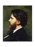 A Portrait of Phillipe Burty  1874