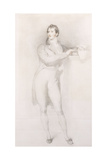 Portrait of Sir Francis Burdett  Bart  Small Full-Length  Standing by a Mantelpiece  C1796