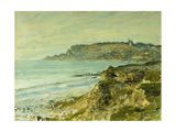 The Cliffs at Saint Adresse; La Falaise De Saint Adresse  1873