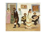 Creole Dancing; Baile Criollo