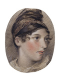 Study of the Head of a Lady in Profile  1808