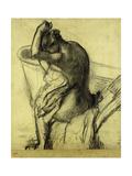 After the Bath; Apres Le Bain, 1899 Giclée par Edgar Degas