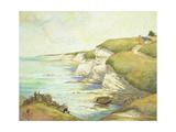Cliffs in Brittany; Falaises En Bretagne