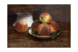The Bowl of Peaches; Le Bol De Peches  1869