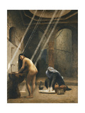 The Moorish Bath (Woman in a Turkish Bath); Un Bain Maure (Femme Turque Au Bain)  C1889
