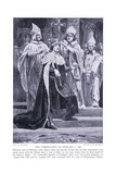 The Coronation of Edward I Ad1274  1920's
