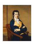 Portrait of Henry Richard Vassall Fox  3rd Lord Holland (1766-1837)  Seated Half Length  in a…