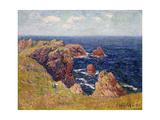 The Brittany Coast; La Cote Bretonne  C1895