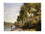 Sunny Morning at Saint Mammes; Soleil Du Matin a Saint-Mammes  1884