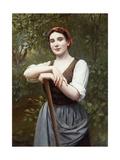 Peasant Girl  1889