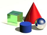 Geometric Shapes  Artwork