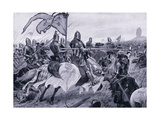 The Battle of Crecy Ad1346  1920's