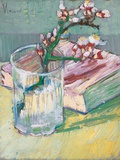 Still Life  a Flowering Almond Branch  1888