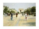 Avenue of the Bois De Boulogne; Avenue Du Bois De Boulogne