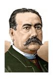 Abelardo De Carlos (1822-1884) Colored Engraving