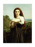 Young Shepherdess; Jeune Bergere  1868