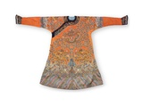 Formal Court Robe  Qing Dynasty  Jifu China  Mid 19th Century