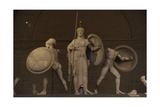 Aegina West Pediment 500-490 BC Temple of Aphaia Greece