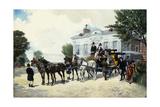 The Hackney Carriage; Le Fiacre
