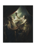 Cupid Abandoning Psyche  1736
