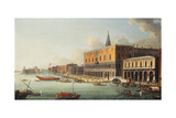 The Bacino Di San Marco  Venice  Looking West  C1740s