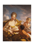 Venus  Cupid and a Faun  1708-13