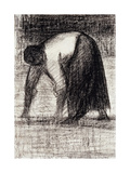 A Peasant Woman with Hands in the Ground; Paysanne Les Mains Au Sol  C1882