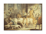 Lycurgus Entering Athens; and Theseus's Approach to Athens
