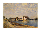 Saint-Mammes  on the Banks of the Loing; Saint-Mammes  Les Bord Du Loing  1884
