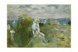 On the Cliff at Portrieux; Sur La Falaise Au Portrieux  1894