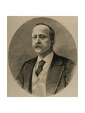 Enrique Hernandez (Born 1828) Spanish Journalist and Editor of the Impartial Engraving
