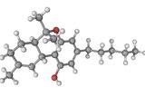 THC Drug Molecule