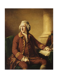 Portrait of Charles Howard (1720-1786)  Seated in a Brown Suit Trimmed with Gold Braid  1768