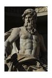 Italy Rome Fontana Di Trevi 18th Century Neptune
