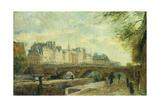 The New Bridge of the City; Le Pont Neuf De La Cite
