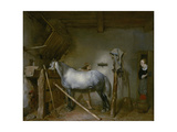 Horse in a Stable  C1652-54