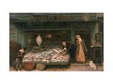 The Fishmonger's Shop  1872