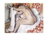 After the Bath (Woman Drying Herself); La Sortie Du Bain (Femme S'Essuyant)  C1885